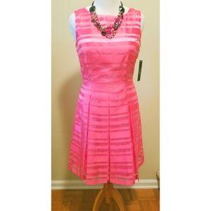{Tahari} Hot Pink Dress